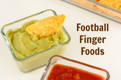 Football Finger Food Recipe Ideas