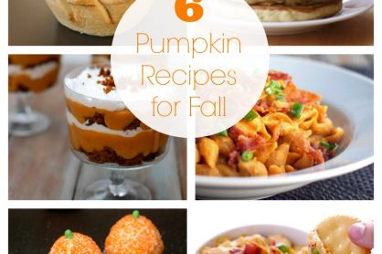 6 Pumpkin Recipes for Fall