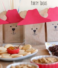Paddington Bear Themed Party Ideas