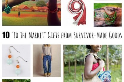 10 To The Market Gifts from Survivor-Made Goods