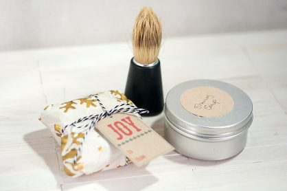 Make Shaving Soaps for Christmas Gifts - Francine Clouden for Make & Takes-9