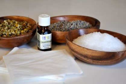 Homemade Bath Salts and oils