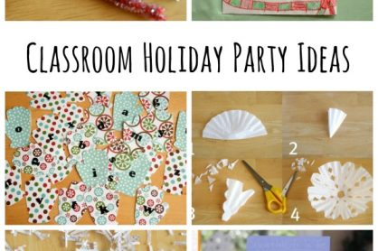 Classroom Holiday Party Ideas for Kids