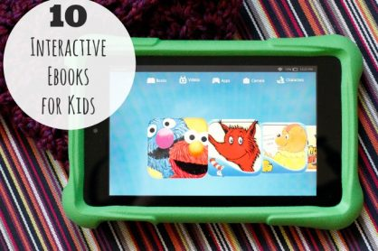 10 Interactive Ebooks for Kids