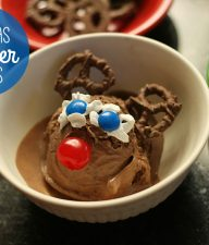 Christmas reindeer sundaes