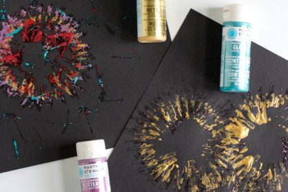 Paper Tube Stamping Fireworks for New Year's Eve