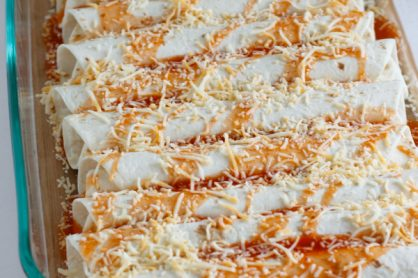 Easy Chicken Enchiladas for Dinner