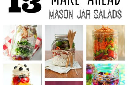 13 Make-Ahead Mason Jar Salads