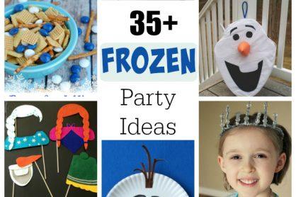 35+ Frozen Party Ideas
