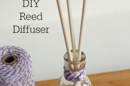 DIY Reed Diffuser to Make at Home