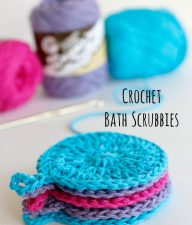 How to Make Crochet Bath Scrubbies