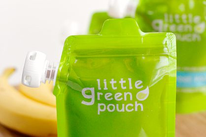 Chocolate Almond and Banana Little Green Pouch Recipe