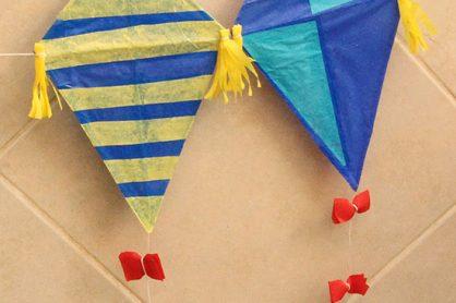 Straw Tissue Kites