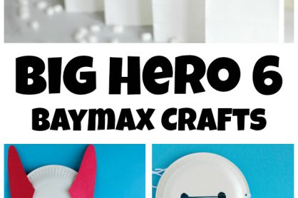 Baymax Crafts to Make for a Big Hero 6 Birthday Party