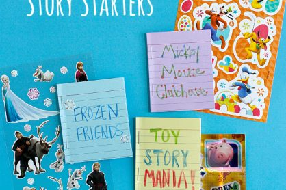 Disney Sticker Story Starters to Make for a Disney World Vacation