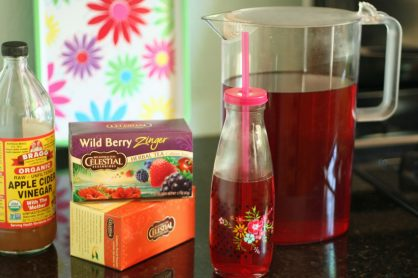 Fruity iced tea for kids and grown-ups!