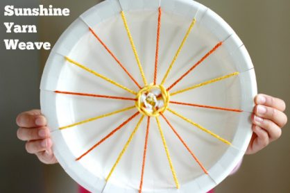 Make a Sunshine Yarn Weave