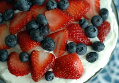 Red White and Blue Trifle Dessert