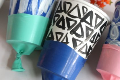Simple Paper Poppers via Persia Lou