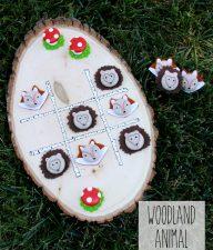 Woodland-Animal-Tic-Tac-Toe-Game