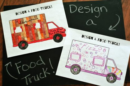 Food truck design project for kids!