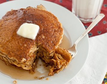 Blender Whole Wheat Pancakes