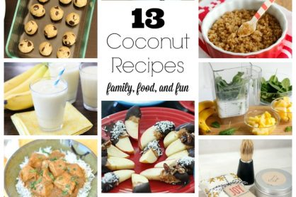 13 Coconut Recipes for Family, Food, and Fun