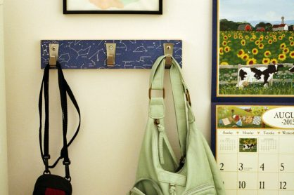 Craft a personalized hook rack with your child