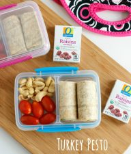 Turkey Pesto Roll-Ups School Lunch Box Ideas