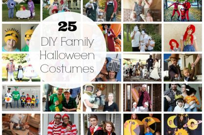 25 DIY Family Halloween Costumes