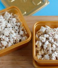 Make Peppermint White Chocolate Muddy Buddies Recipe