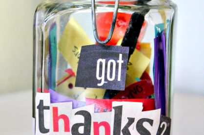 got thanks gratitude jar