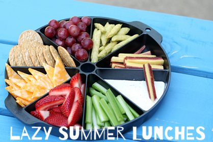 Lazy Summer Lunch Ideas