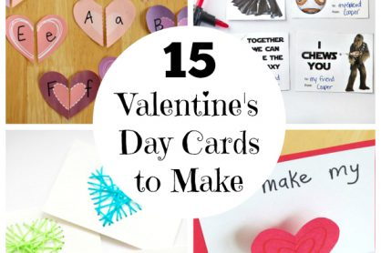 15 Valentine's Day Cards for Kids