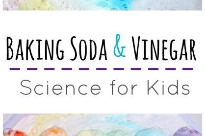 baking soda and vinegar science for kids