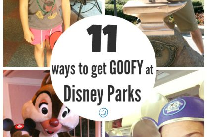 Get Goofy at Disney Parks