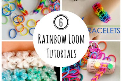 6 Rainbow Loom Bracelet Tutorials for Kids
