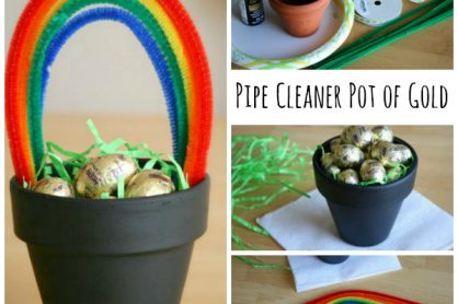 Pipe Cleaner Pot of Gold Kids Craft