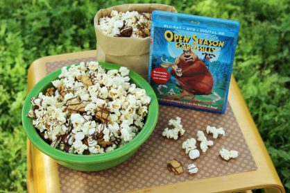 S'mores popcorn for movie night