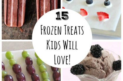 15 Frozen Treats Kids Will Love