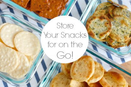 Store Your Snacks for on the GO