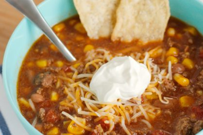 Easy Taco Soup for Dinner