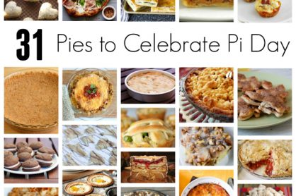 31 Pies to Celebrate Pi Day