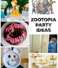 Zootopia Party Ideas