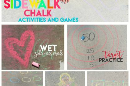 10 Awesome Sidewalk Chalk Activities and Games
