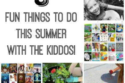5 Fun Things to do this Summer with the Kiddos