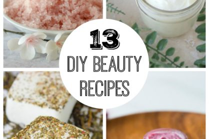 13 DIY Beauty Recipes