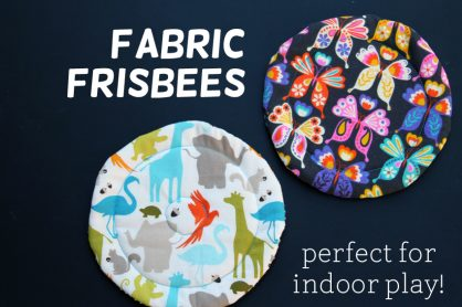 Fabric frisbees for indoor play