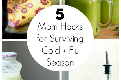 Mom Hacks for Surviving Cold + Flu Season