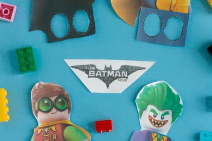 The LEGO Batman Movie Finger Puppet Printable